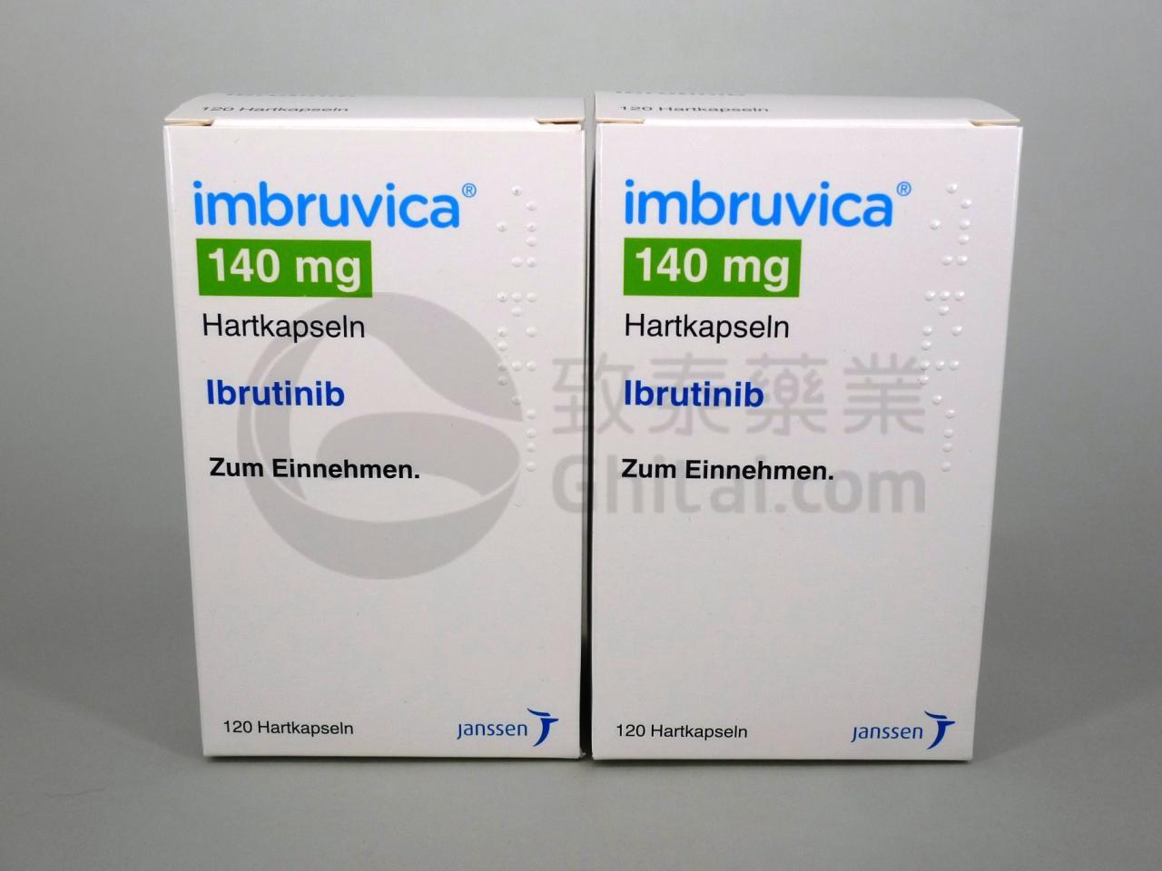 IMBRUVICA/IBRUTINIB/伊鲁替尼 1
