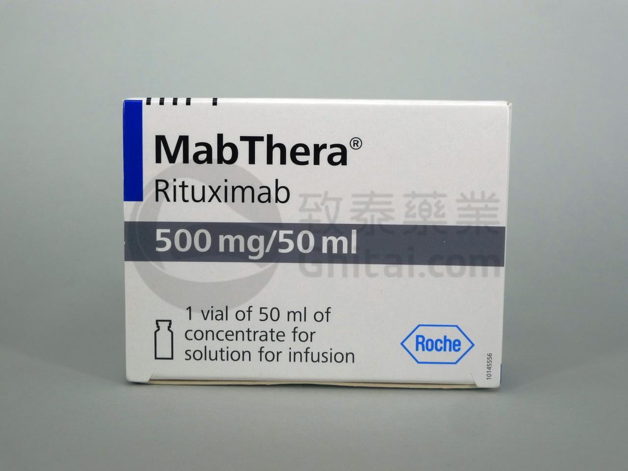 MABTHERA/RITUXIMAB/莫须瘤注射剂/利妥昔单抗 2