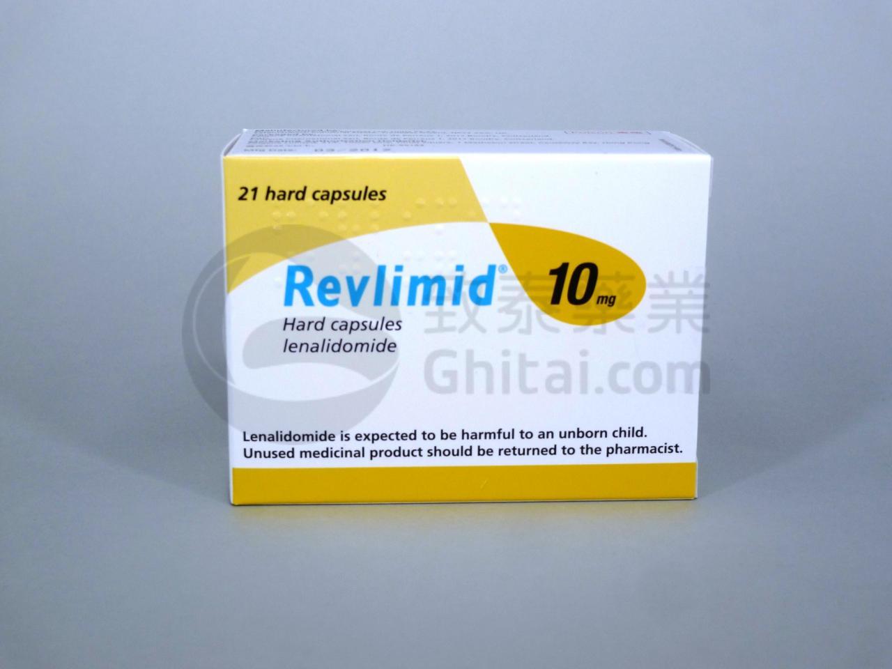 REVLIMID/LENALIDOMIDE/来那度胺/雷利米得胶囊 1