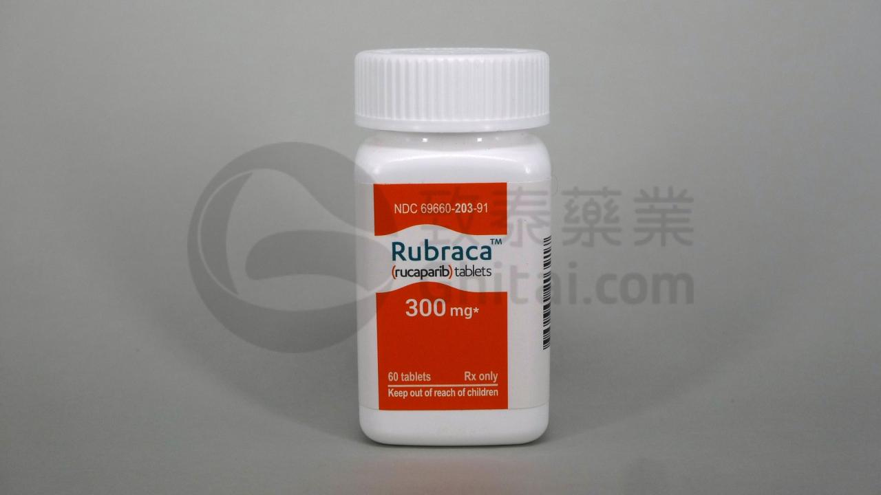 RUBRACA/RUCAPARIB/芦卡帕利