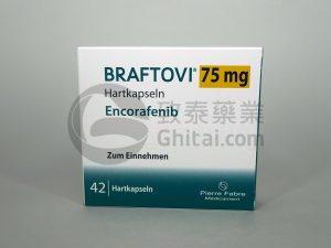 康奈非尼Braftovi(Encorafenib)提高BRAF阳性晚期大肠癌的生存率