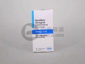 Hemlibra(Emicizumab-kxwh)用于治疗12岁及以上的体内含有抑制物的A型血友病患者 2