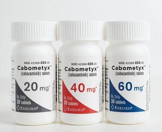 Cabometyx(cabozantinib,Cometriq,卡博替尼)