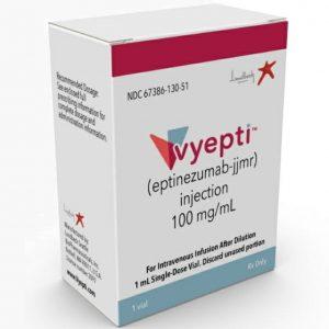 Vyepti(eptinezumab)被证明对偏头痛患者有效